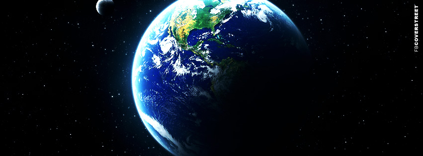 Gorgeous Earth Space View Facebook cover