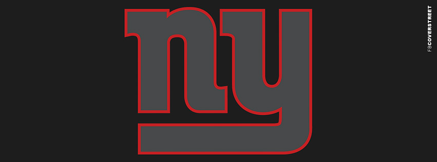New York Giants Simple Logo  Facebook Cover