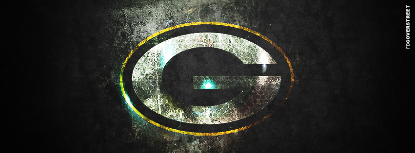 Green Bay Packers Abstract Dirty Logo  Facebook cover