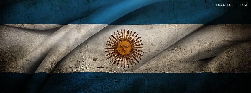 Argentina Flag Facebook Cover