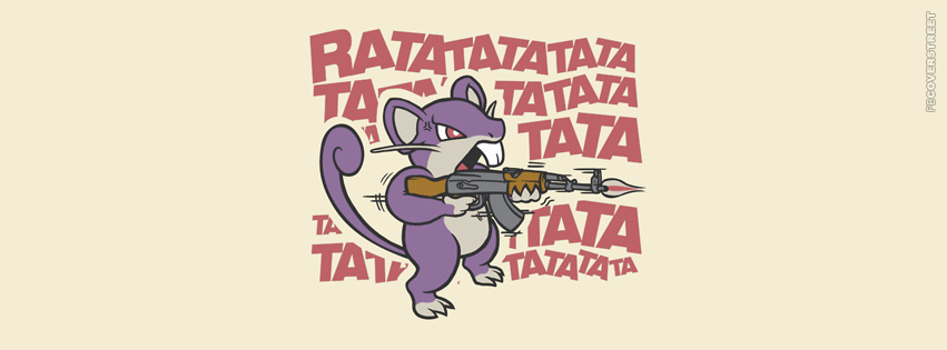 Ratatat Pokemon Shooting  Facebook Cover