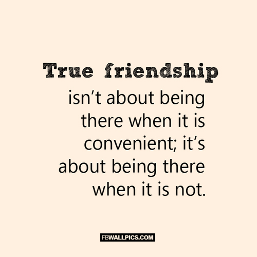True Friendship Quote  Facebook picture