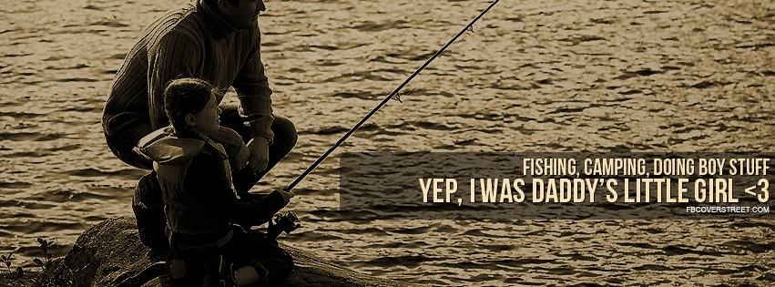 Fishing Camping Doing Boy Stuff Facebook cover