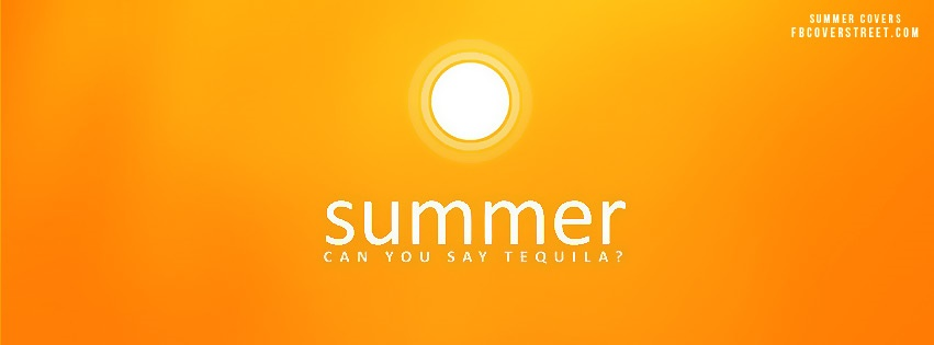 Can You Say Tequila Facebook Cover