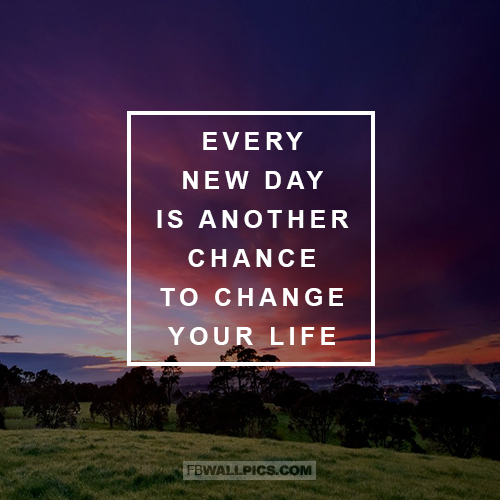 Every New Day Quote  Facebook picture