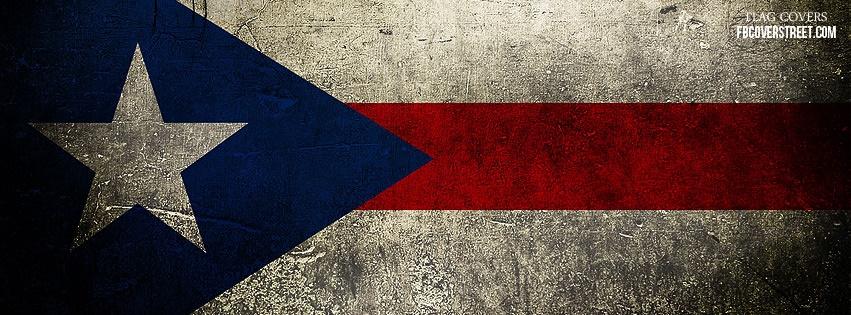 Puerto Rico Flag Facebook Cover