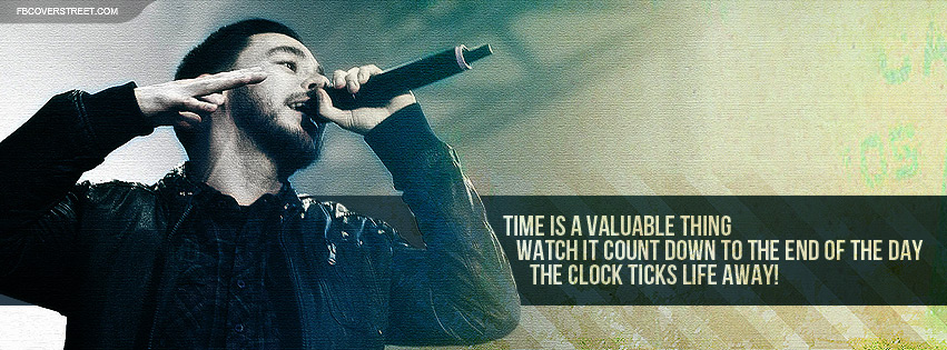 Linkin Park Mike Shinoda In The End Lyrics Facebook Cover