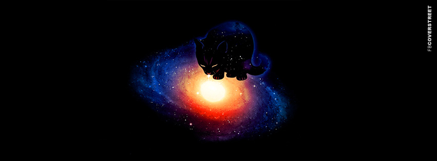 Cat Galaxy  Facebook cover