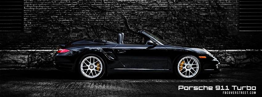 Porsche 911 Turbo Facebook cover