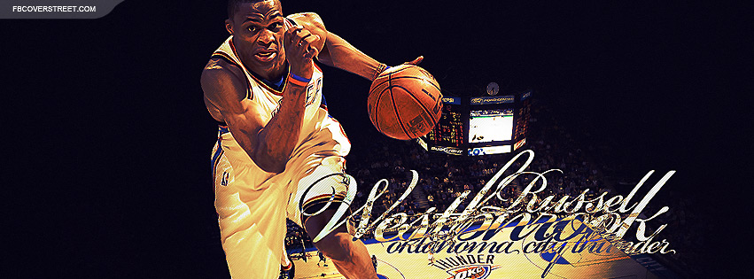 Russell Westbrook 6 Facebook cover