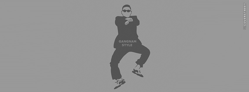 Gangnam Style Minimal  Facebook cover