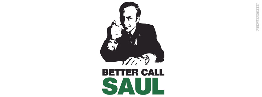 Better Call Saul Minimal  Facebook Cover