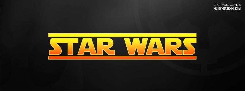 Star Wars Logo 2 Facebook Cover