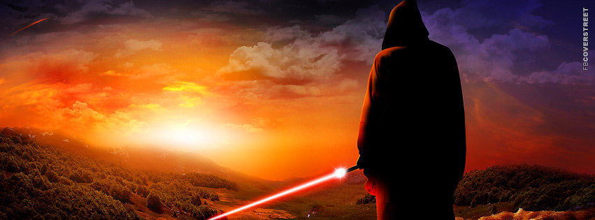 Sith Lord Star Wars Artwork  Facebook Cover