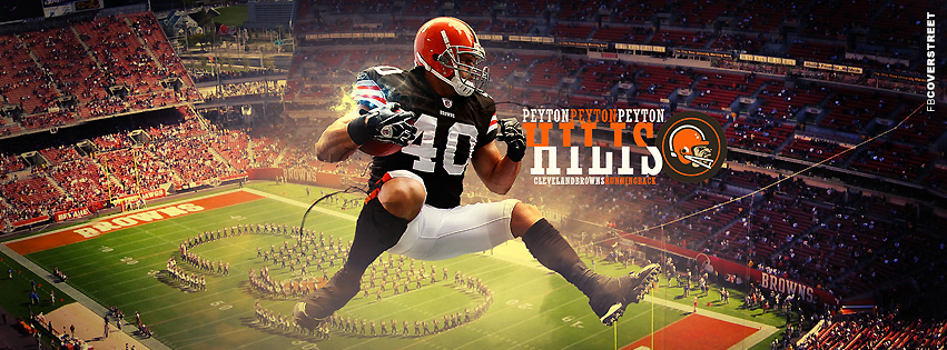 Cleveland Browns Peyton Hilis  Facebook cover