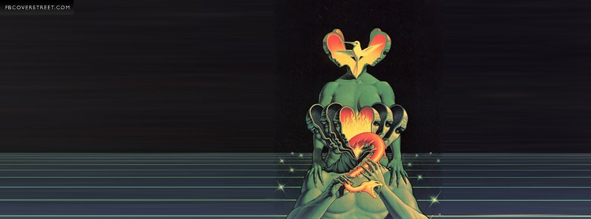 Psychedelic Wild Artwork  Facebook cover