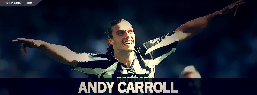 Andy Carroll Liverpool Facebook cover