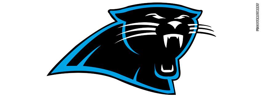 Carolina Panthers Simple Logo Facebook cover