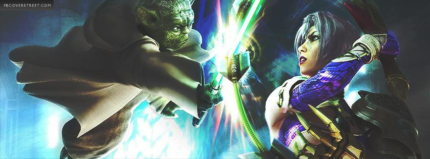 Soul Calibur 4 Yoda Battle Facebook cover
