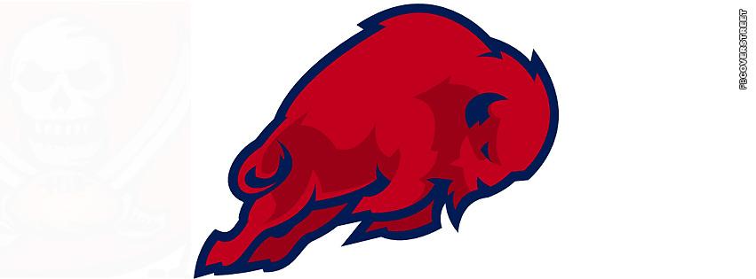 Buffalo Bills Simple Logo Facebook cover