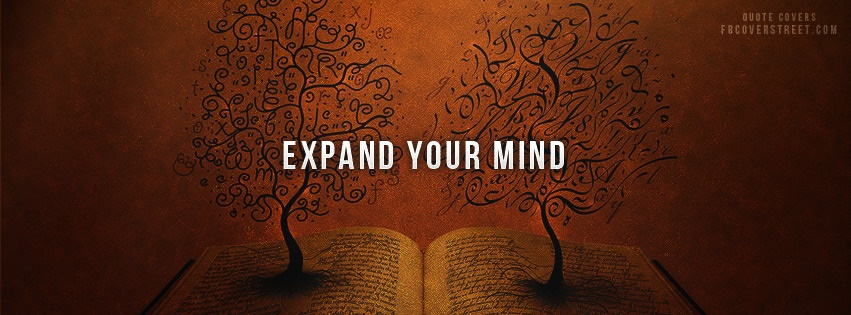 Expand Your Mind Book Facebook Cover