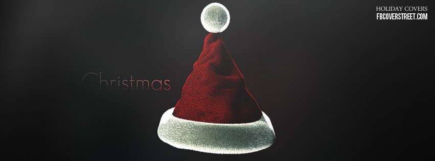 Christmas Hat Facebook Cover