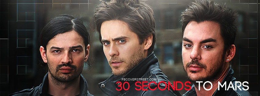 30 Seconds To Mars Facebook cover