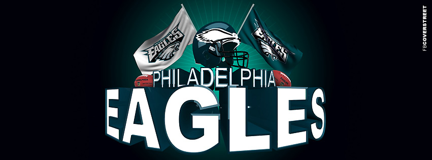 Philadelphia Eagles NFL Team Logo Facebook Cover