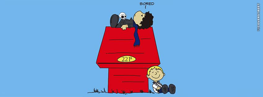 Sherlock Holmes Snoopy  Facebook cover