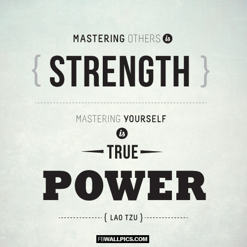 Mastering Yourself Is True Power Lao Tzu Quote  Facebook picture