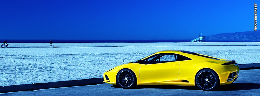 Yellow Lotus Elan Facebook Cover