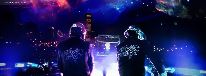 Daft Punk Photo Facebook Cover
