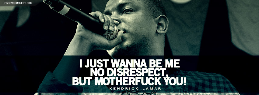 Kendrick Lamar Let Me Be Me Lyrics Facebook cover