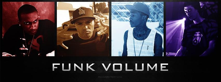 Funk Volume Collage Facebook Cover