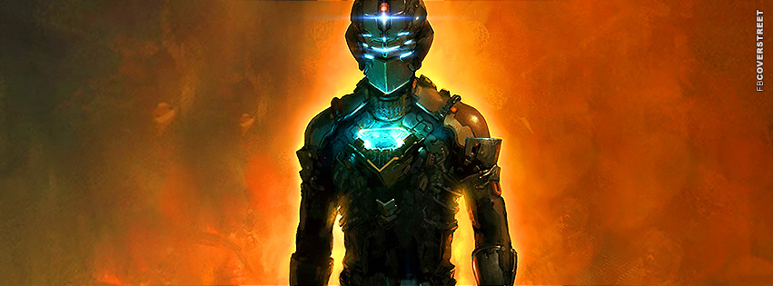 Dead Space Isaac Clarke Facebook cover