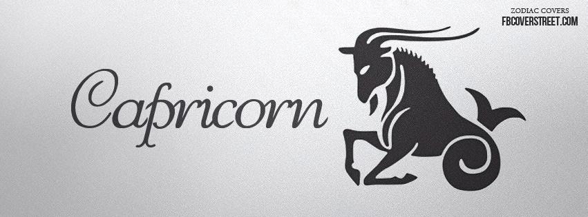Capricorn Symbol 1 Facebook Cover