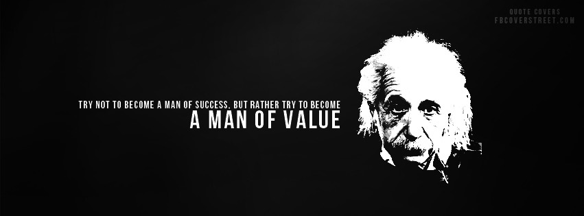 Man of Value Facebook cover