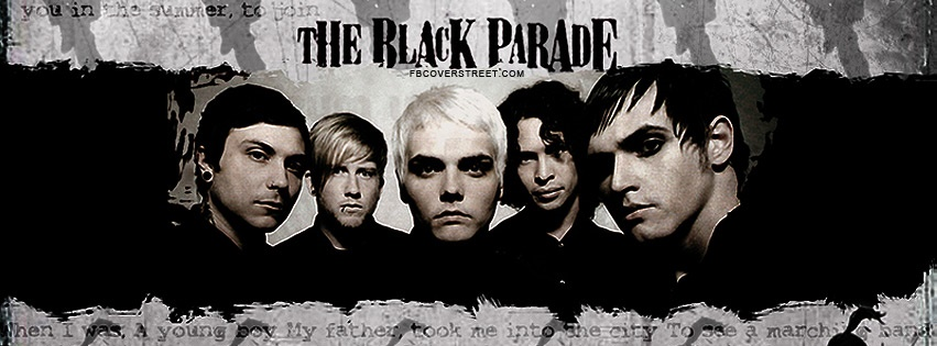 My Chemical Romance Black Parade 2 Facebook cover