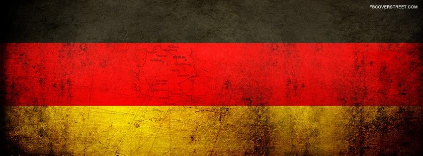 German Berlin Flag Facebook Cover