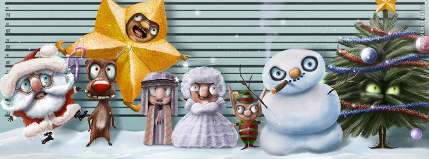Awesome A Criminal Christmas Facebook Cover