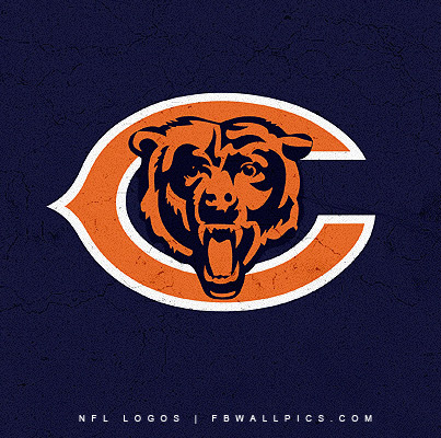 Chicago Bears Grungy Logo Facebook picture