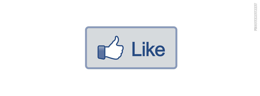 Facebook Thumbs Up Like Button  Facebook cover