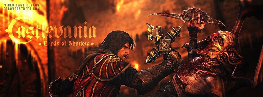 Castlevania Lords of Shadow Facebook Cover