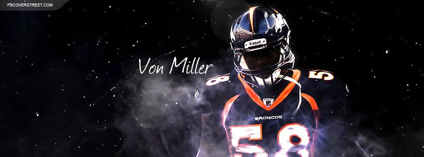 Von Miller Facebook Cover