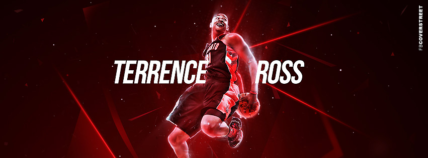Toronto Raptors Terrence Ross Facebook Cover  Facebook cover