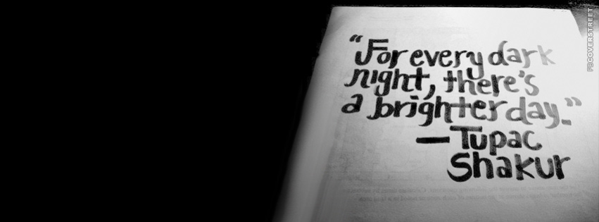 For Every Dark Night  Facebook Cover