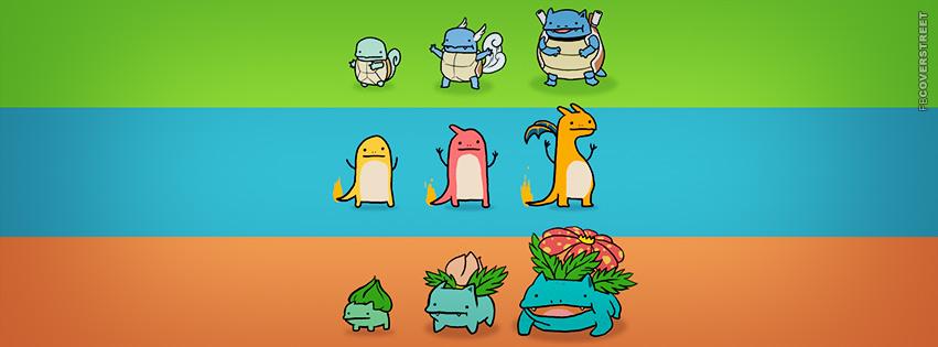 Cute Pokemon Cartoon  Facebook Cover