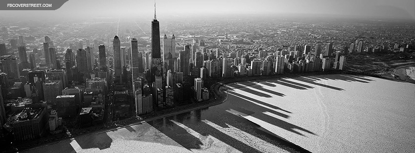 Chicago BW Winter Facebook Cover