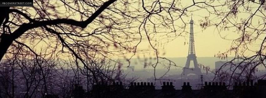 Paris Eiffel Tower Longview Photograph  Facebook cover