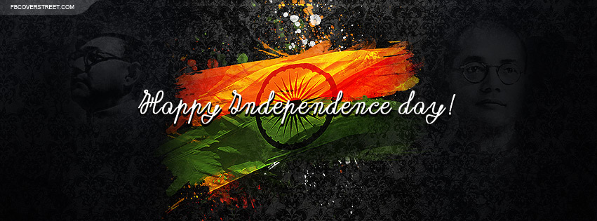 India Happy Independence Day Facebook Cover
